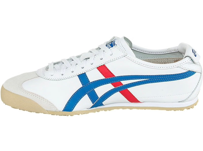 new arrival 29777 7ed02 Asics-Onitsuka tiger Mexico 66 White/Blue Shoes- Men's Running Shoes