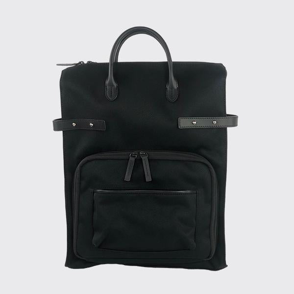 Venque Unisex Bags Totepack/Backpack Black