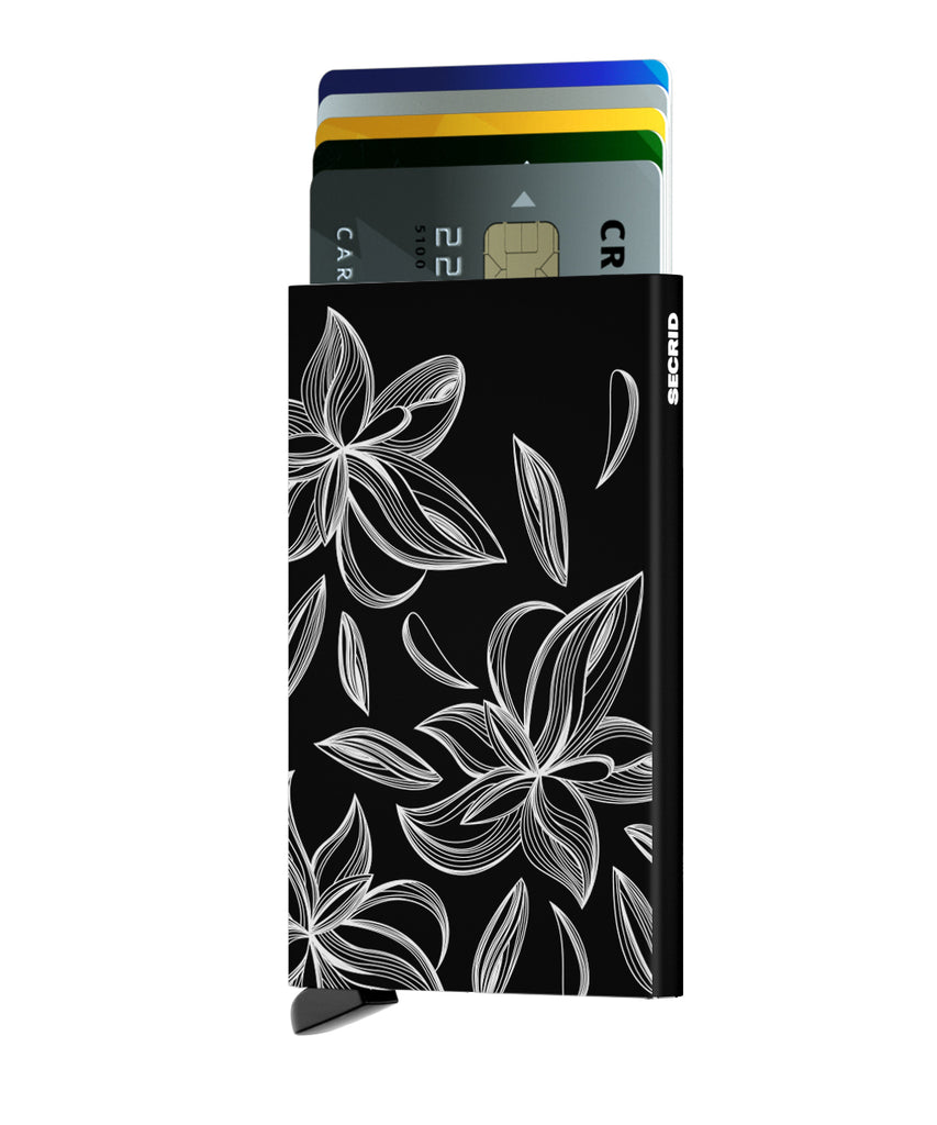 Secrid Cardprotector Laser Magnolia Black RFID Card Wallet Protector Authorized Dealer