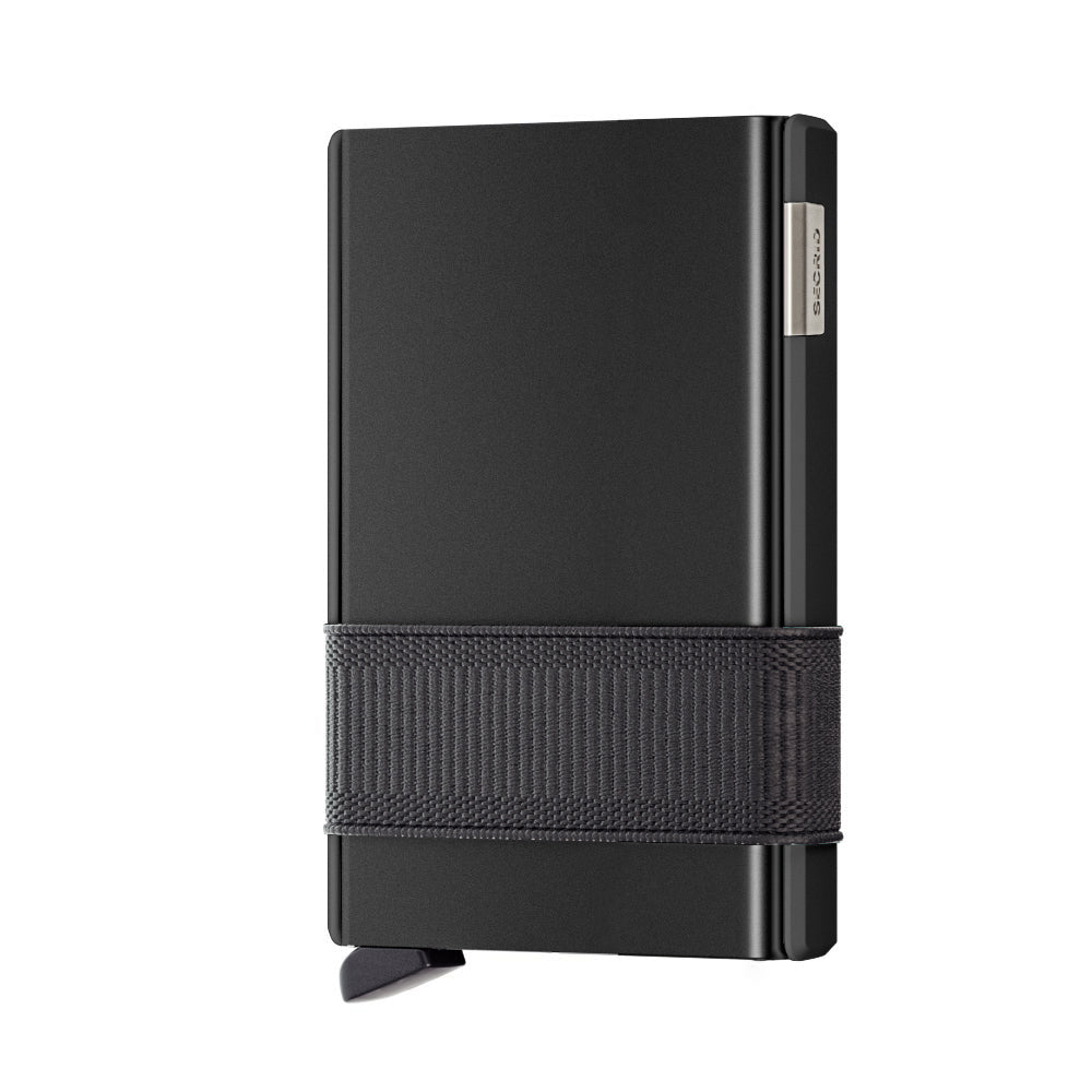 Secrid Card Slide - Black/Black RFID Secure Card Wallet-Authorized Dealer