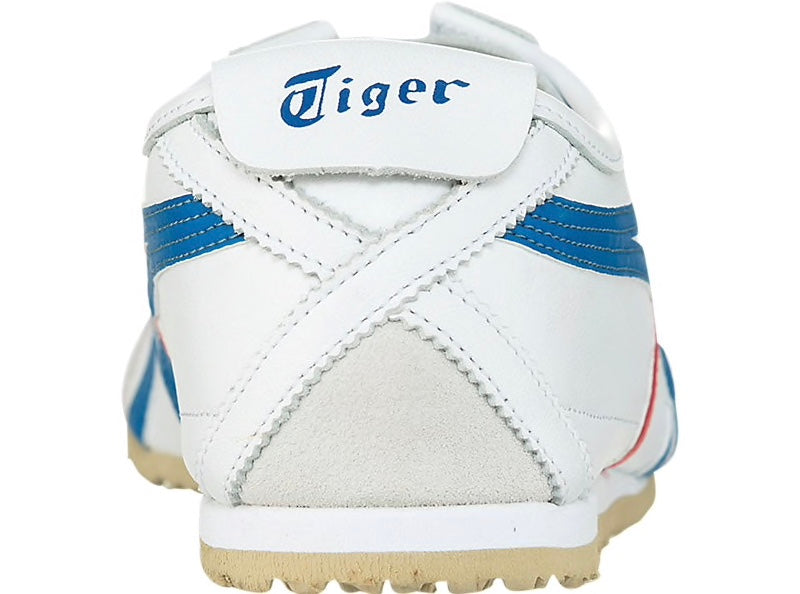 Men's Mexico 66 White/Blue Classic Running Shoes