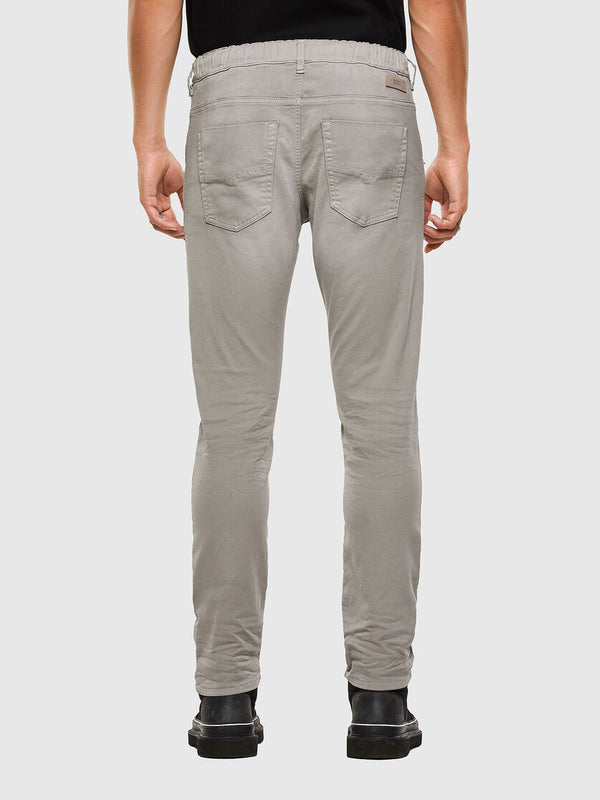 Men's Jeans Krooley Grey Joggjeans Tapered Stretch Denim