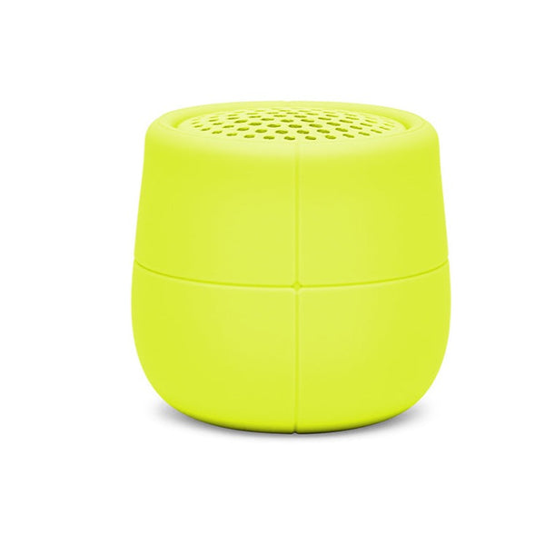 Mino X AcidYellow Floating Bluetooth Speaker USB 3W Waterproof Portable