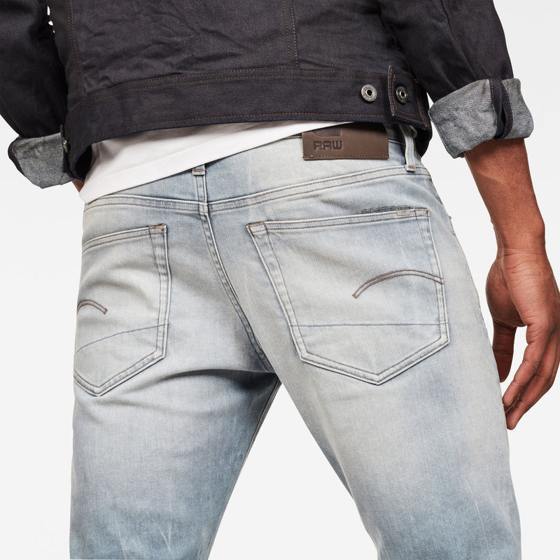 Men's Denim 3301 Slim faded mineral Jeans
