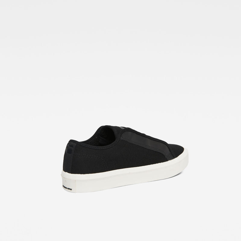 G-Star Men's STRETT LOW Black Local Heavy Canvas