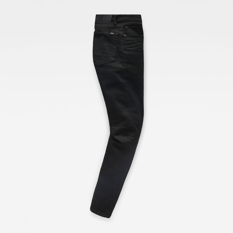 G-Star Men's 3301 Straight Denim Pitch Black Jeans