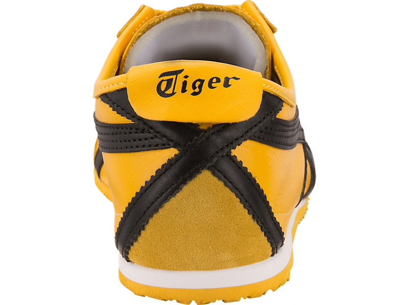 big sale 8f750 a7299 Asics-Onitsuka Tiger Men's Running Shoes MEXICO 66 Yellow/Black