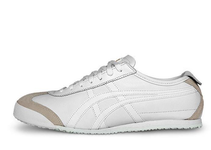MEXICO 66 White/White Men's Running Shoes
