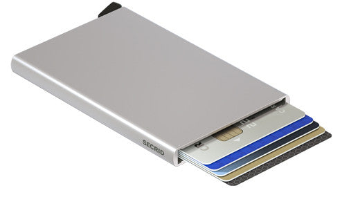 Card Protector-Silver RFID Secure Wallet-Authorized Dealer
