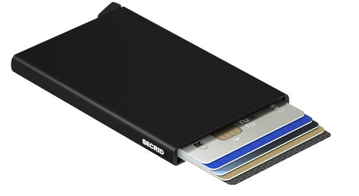 Secrid Card Protector-Black RFID Secure Card Wallet-Authorized Dealer