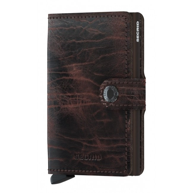 Miniwallet Dutch Martin Cacao-Brown Wallet RFID-Authorized Dealer-mini-Wallet Leather