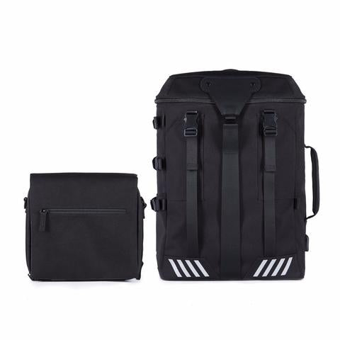 Venque TRANSFORMER A Black Bag Backpack RFID