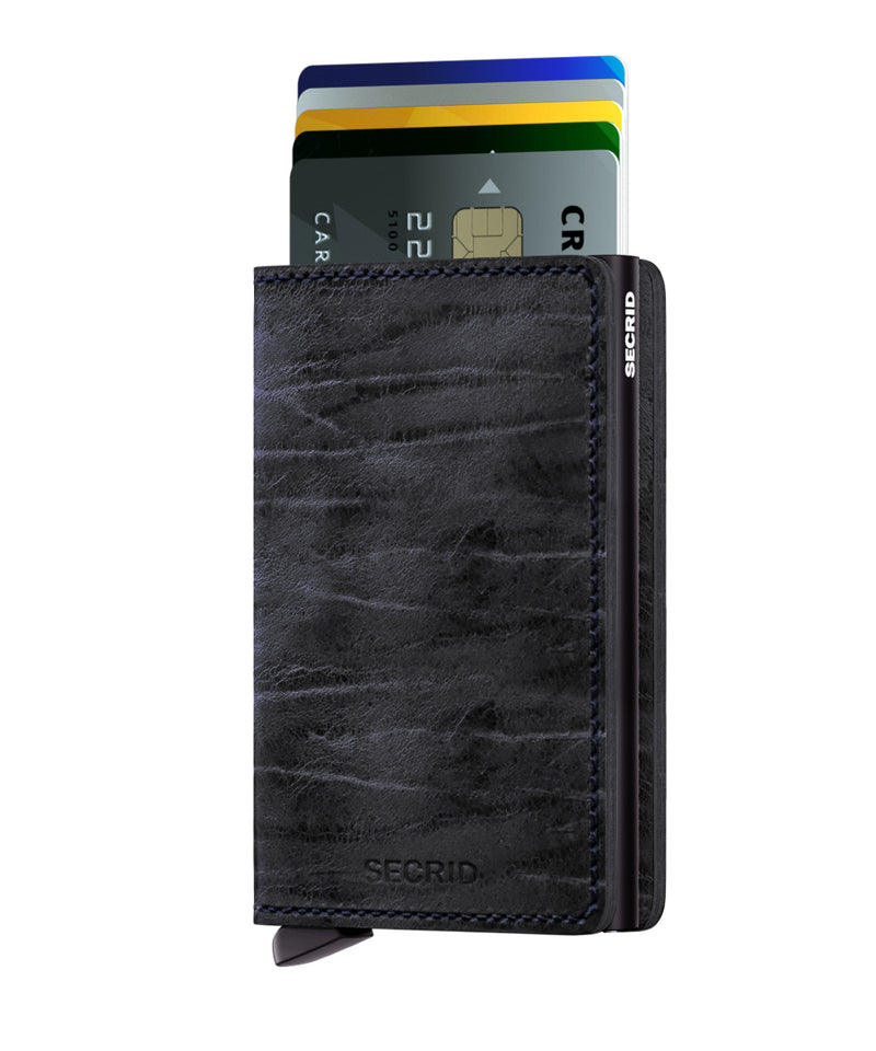 Secrid Slimwallet - Dutch Martin Nightblue RFID Secure Wallet-authorized dealer-slim-wallet Leather