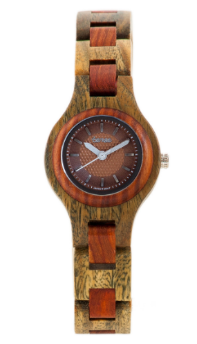 Tense Ladies Wooden Watch Mini Pacific Hand Made