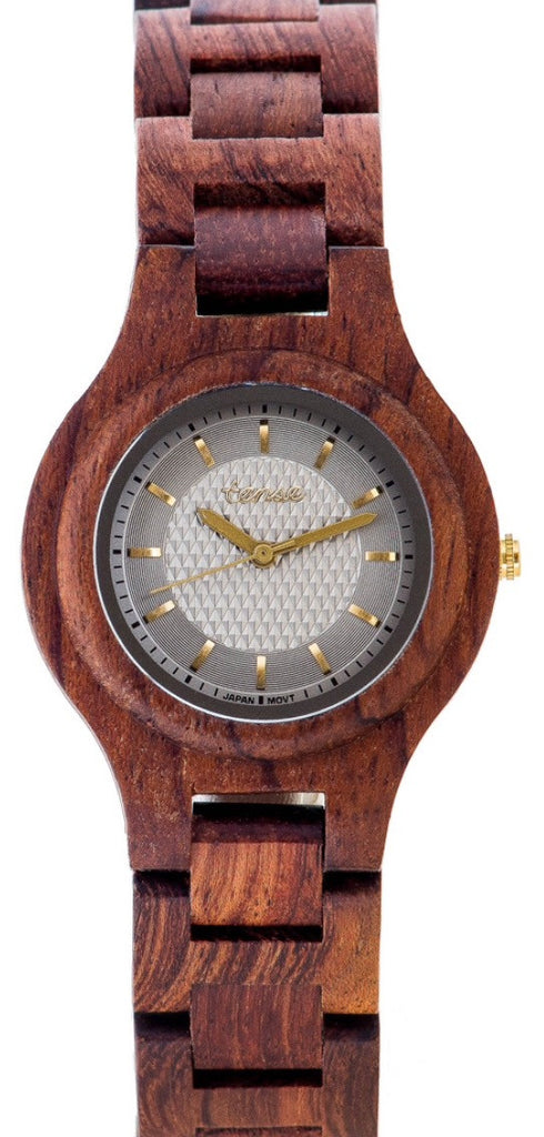 Tense Ladies Wooden Watch Pacific - Rosewood
