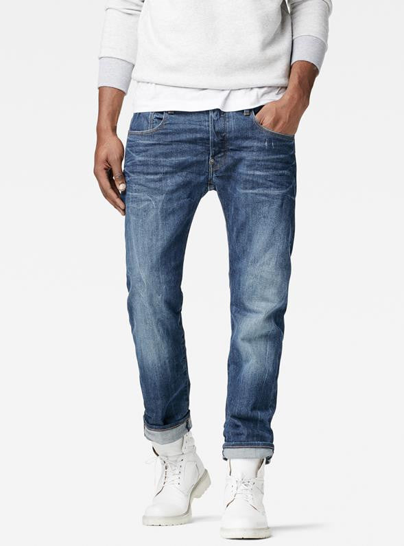 G-STAR Revend Straight Jeans - Medium Aged