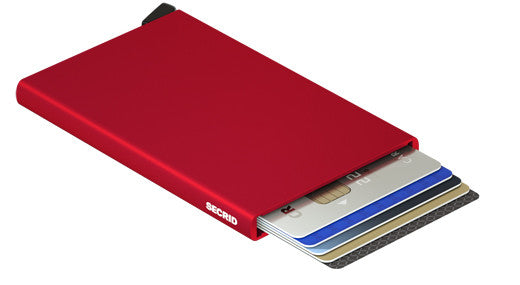 Secrid Card Protector - Red RFID Secure Wallet - AUTHORIZED DEALER
