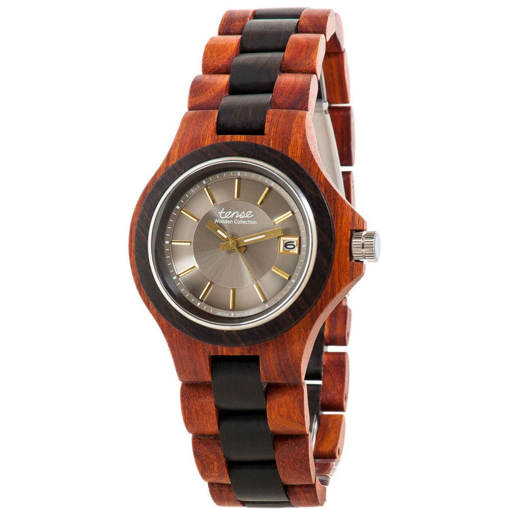 Tense Men's Wooden Watch Metro