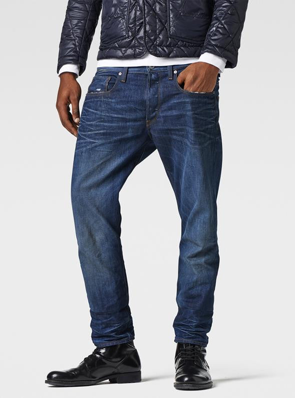 G-STAR 3301 Tapered Jeans - Medium Aged