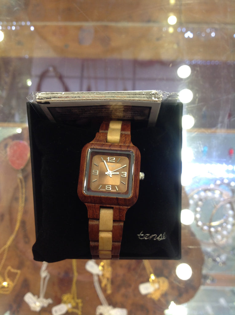 Tense Ladies Wooden Watch Mini Summit