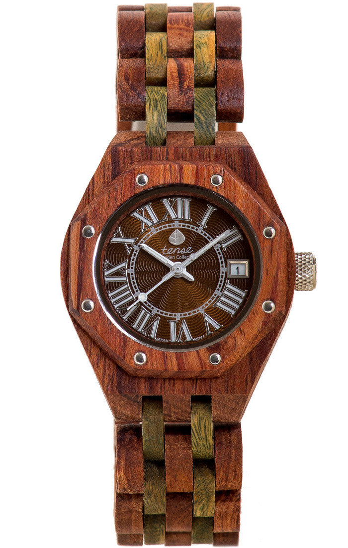 Tense Ladies Wooden Watch Mini Oregon