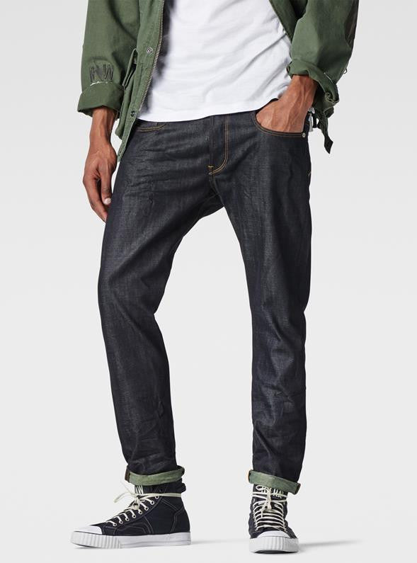 3301 Tapered Jean - Raw Denim Men's