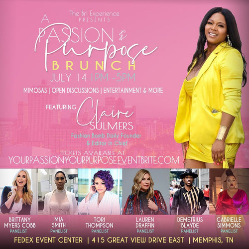 A Passion and Purpose Brunch