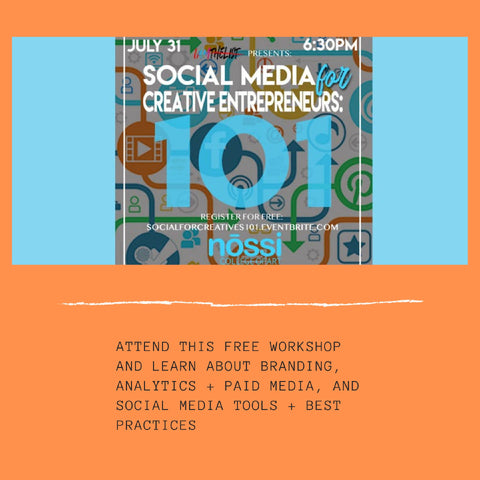 Be Ready for August: Level Up with Social Media for Creative Entrepreneurs 101
