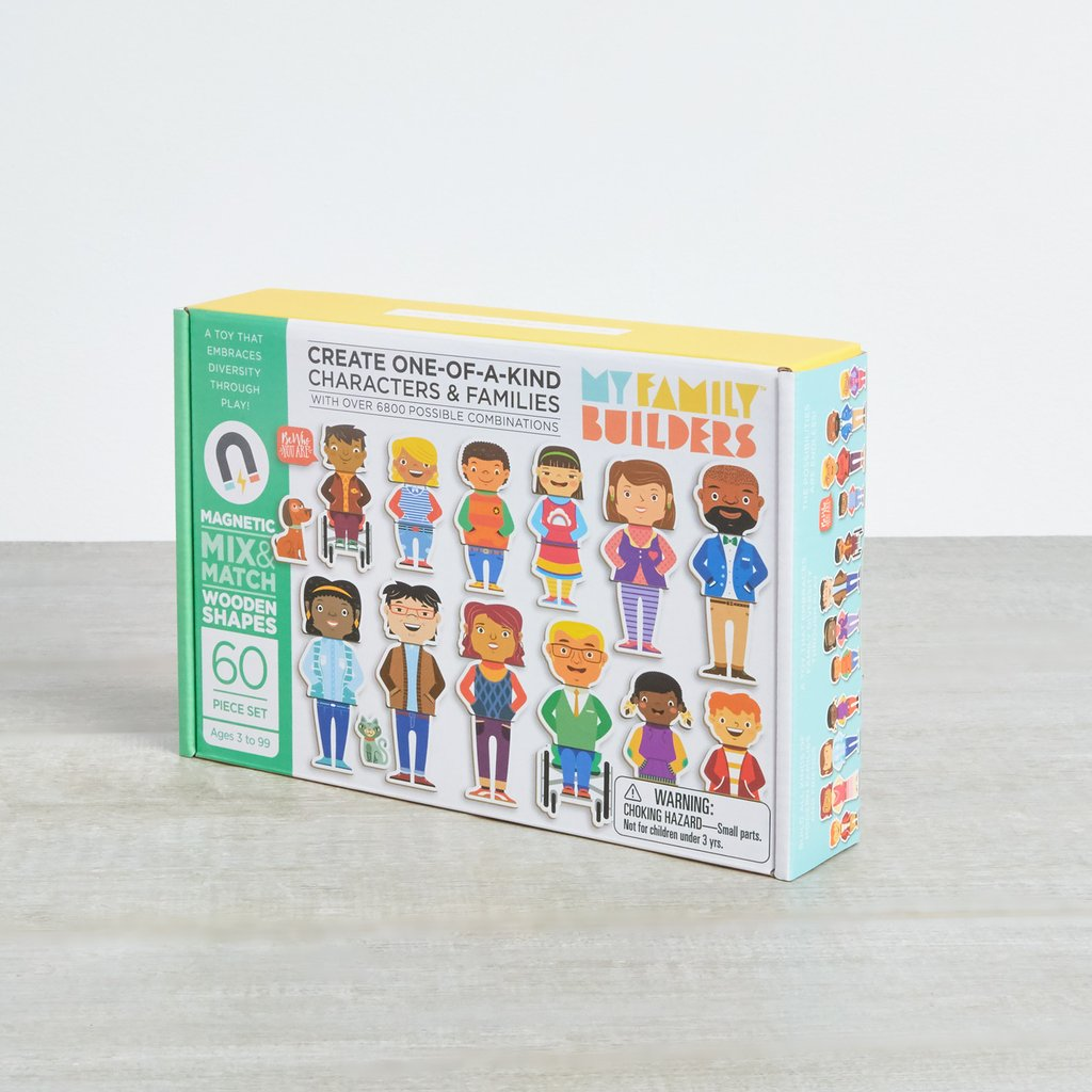 My Family Builders Magnet Set