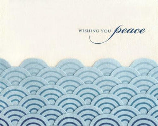Peaceful Waves Card