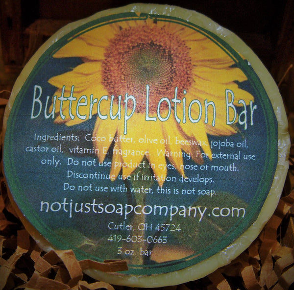 Buttercup Lotion Bar
