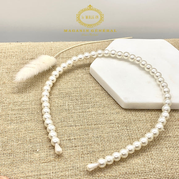 Headband with Fine Pearls