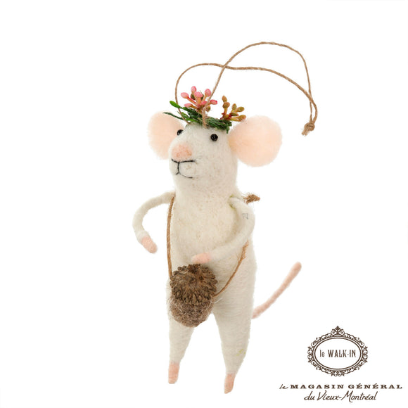 Mignonne Souris Tamtam Mont-Royal Feutrine - Le Walk-in MGVM