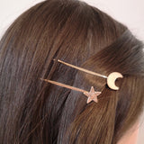 Barrette Duo Bobby Pins lune et étoile - Le Walk-in MGVM