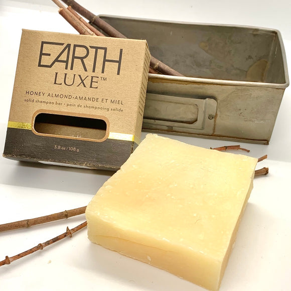 Barre de shampoing solide Amande et Miel / Solid shampoo bar Honey Almond