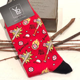 Bas Amusants pour Homme Motifs Baseball / Baseball funky men socks