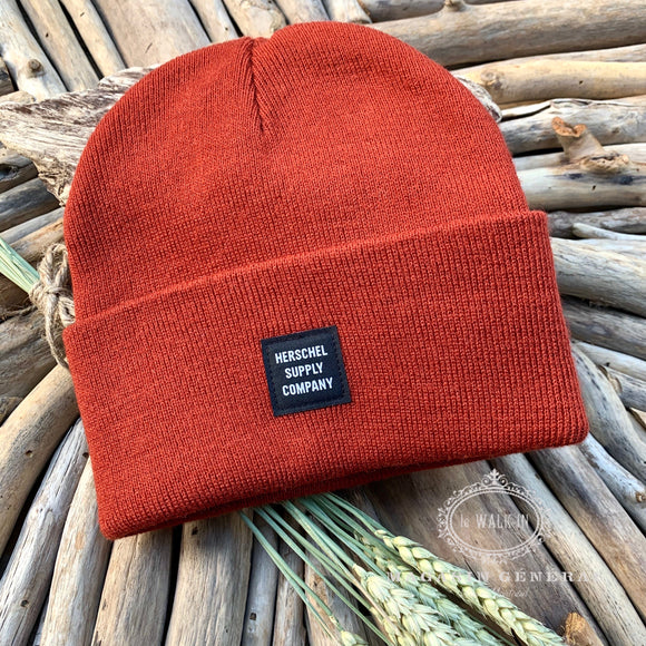 Tuque Beanie abbott orange corail