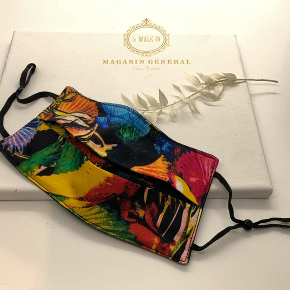 Masque Collection Exclusive Tropical Chic fond Noir