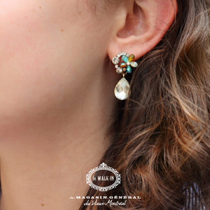 Boucles d'oreilles Upper East Side Cristal - Le Walk-in MGVM