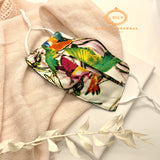 Masque Collection Exclusive Tropical Chic fond blanc
