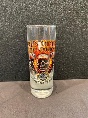 Hells Canyon Clear Tall Shot Glass
