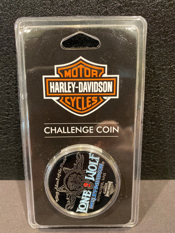 Lone Wolf / Hells Canyon Challenge Coin #2