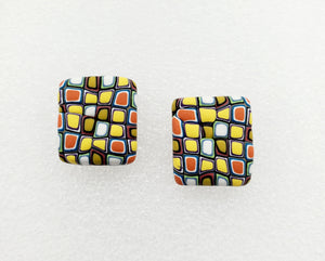 Klimt Inspired Large Studs