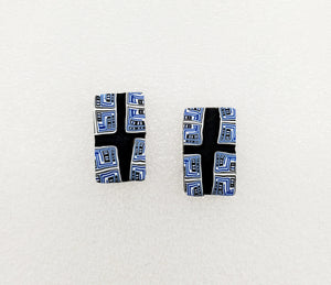 Native Cane Rectangular Studs