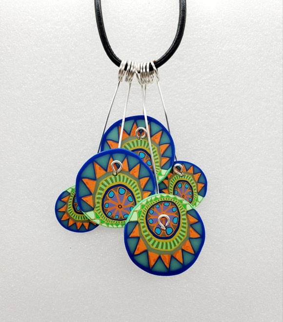 Sunrise Disk Necklace