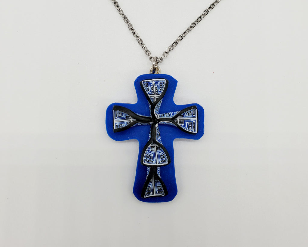Native Cane Cross (Kentucky blue base)