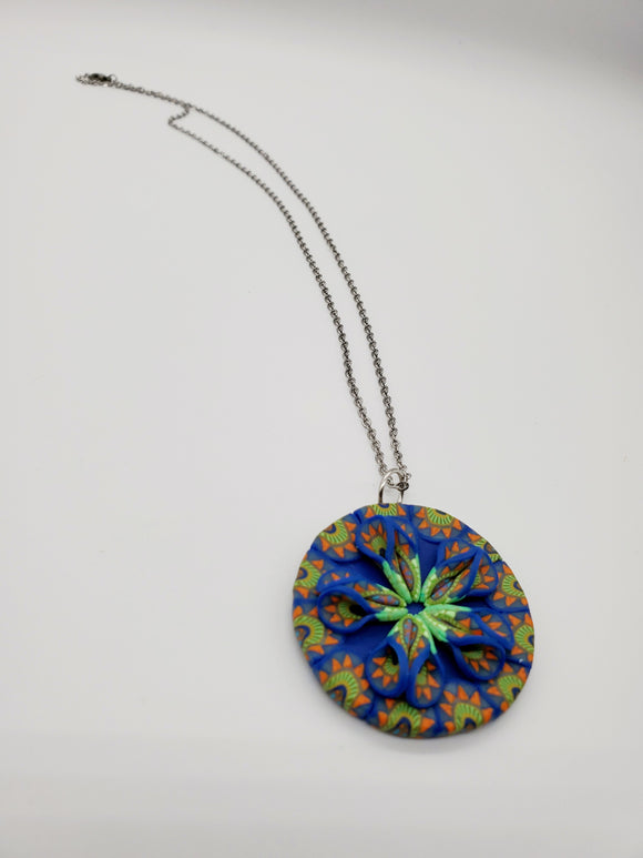 Sunrise 3D Pendant Necklace No. 2