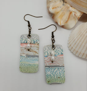 Rodanthe Rectangular Earrings No. 2