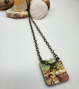 Rodanthe Square Necklace No. 3