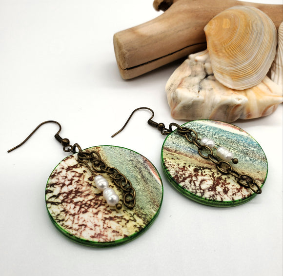 Rodanthe Circle Earrings